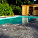 Terrasse Pool